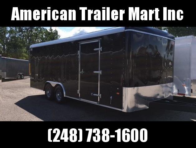 8.5 X 20 Tandem Axle Enclosed Car Hauler Trailer