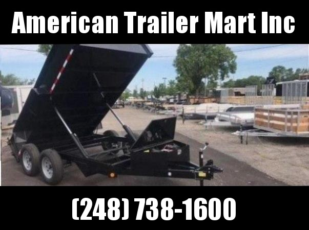6 X 12 Dump Trailer