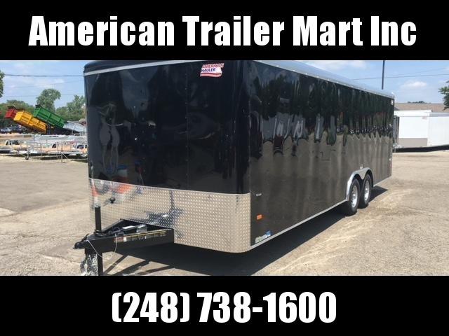 8.5 X 24 Enclosed Car Hauler Trailer