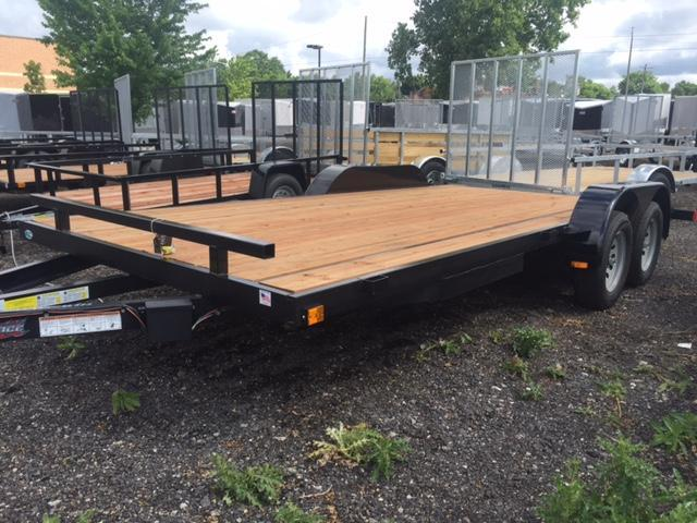 82 X 18  Open Car Hauler / Flatbed Trailer
