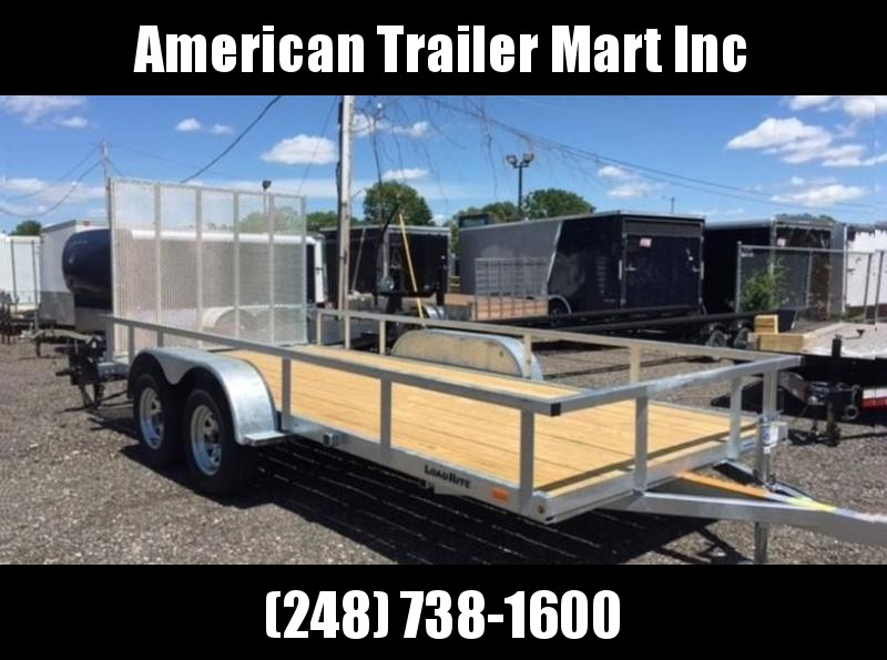 6.5 X 14 Tandem Axle Open Utility Trailer