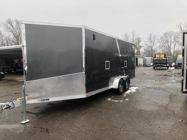 7 X 23 Enclosed Snowmobile Trailer
