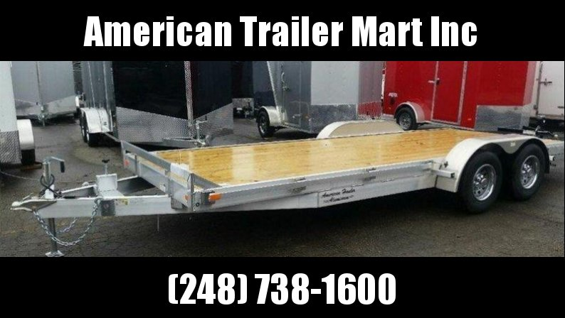 "82"" X 20 Open Car Hauler/Flatbed Trailer"