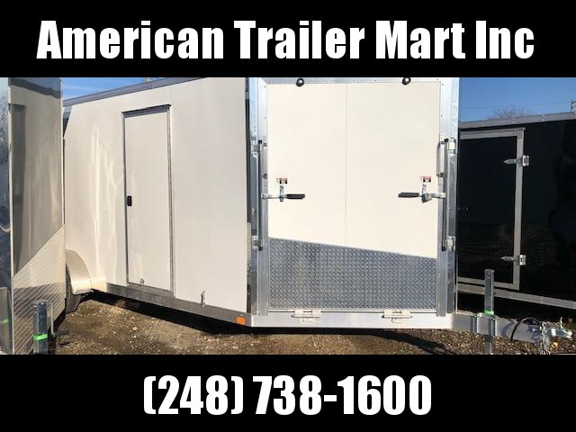 7 X 25 Enclosed Snowmobile Trailer