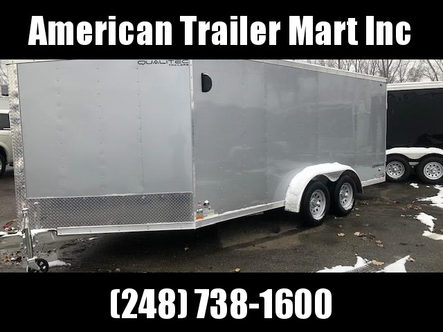 7 X 21  Tandem Axle Snowmobile Trailer