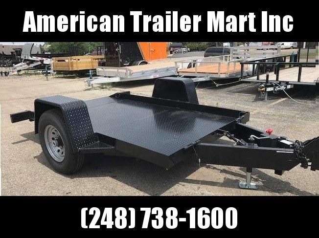 6 X 10 Tilt Equipment Trailer
