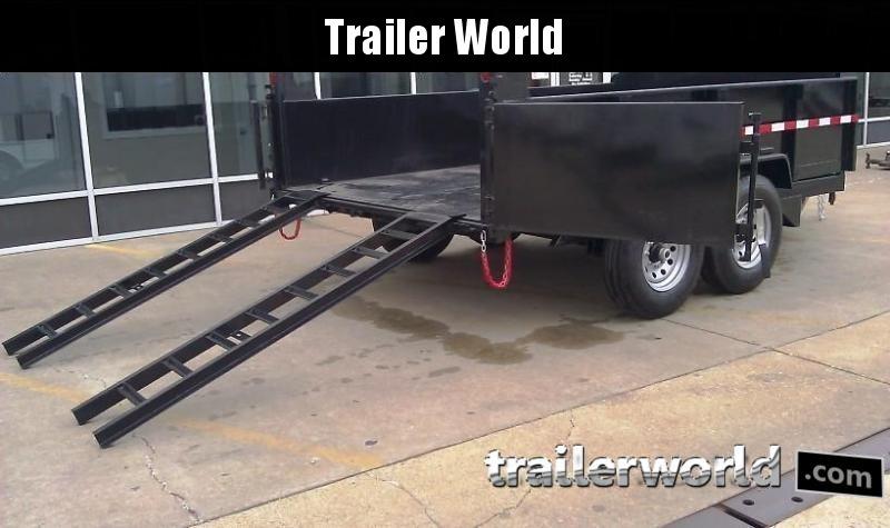 2020 QS 12' Dump Trailer 14K GVWR