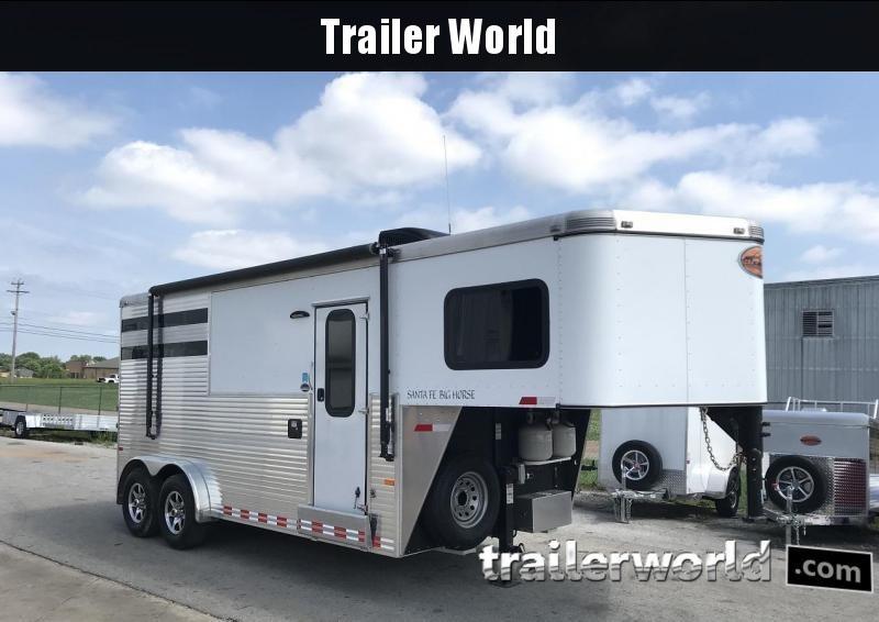 2015 Sundowner Santa Fe LQ Big Horse 2 Horse Trailer