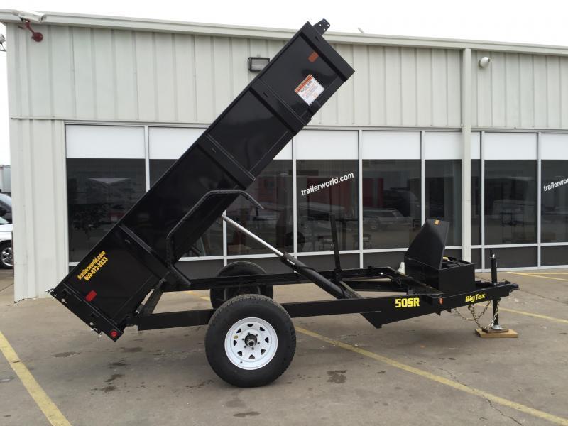 2015 Big Tex Trailers 50SR 10' Dump Trailer