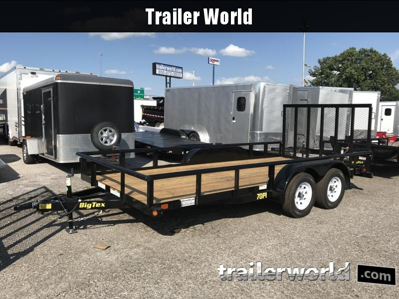 2017 Big Tex Trailers 70PI 16