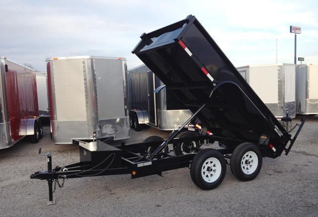 2014 CS 5' x 10'  Dump Trailer 7k GVWR