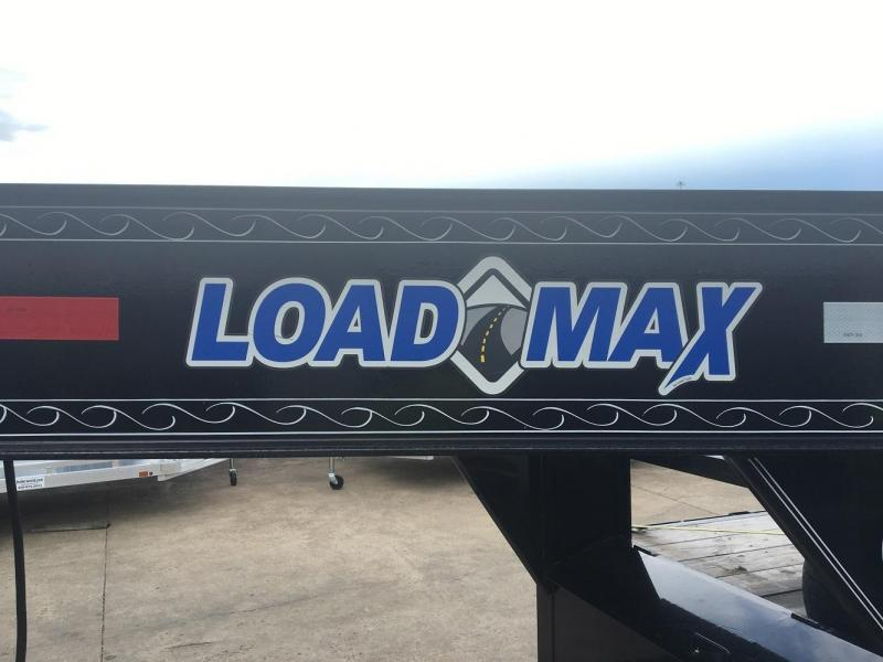 2015 Load Max 40' Triple Axle Flatbed Gooseneck Equipment Trailer