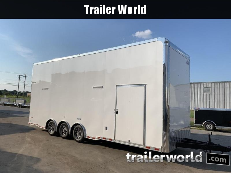 2020 Cargo Mate 28' Stacker Race Trailer