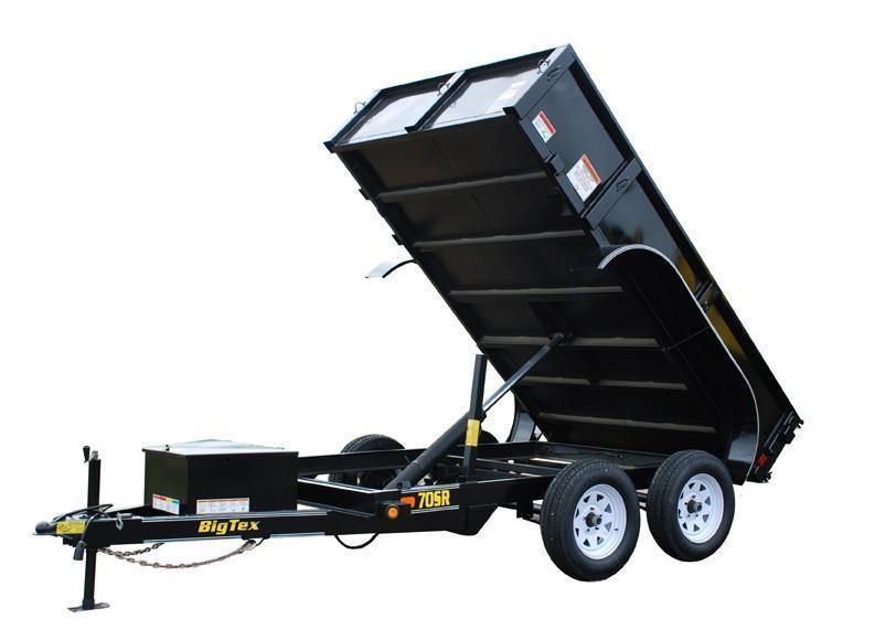 2015 Big Tex Trailers 70SR-10' x 5' Dump Trailer