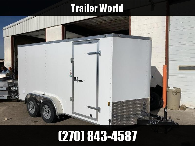 2019 Continental Cargo 7' x 14' x 6.6' Vnose Enclosed Cargo Trailer