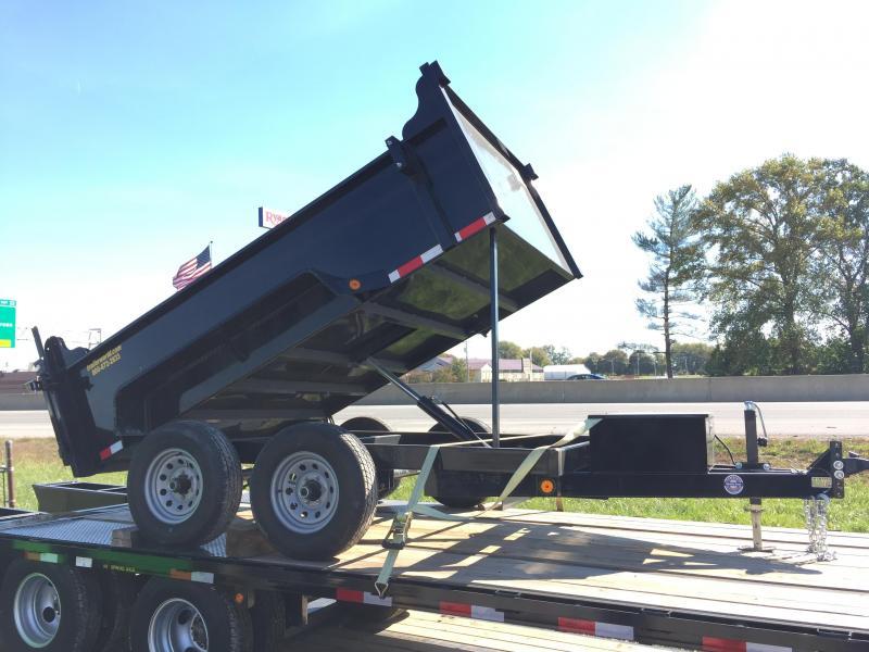 2015 QS 6' x10' Dump Trailer 10k GVWR