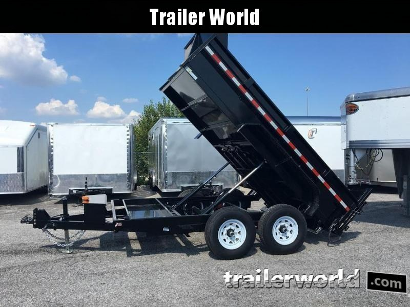 2018 Sure-Trac 82 IN X 12 LProfile 12K Dual Ram Dump Trailer