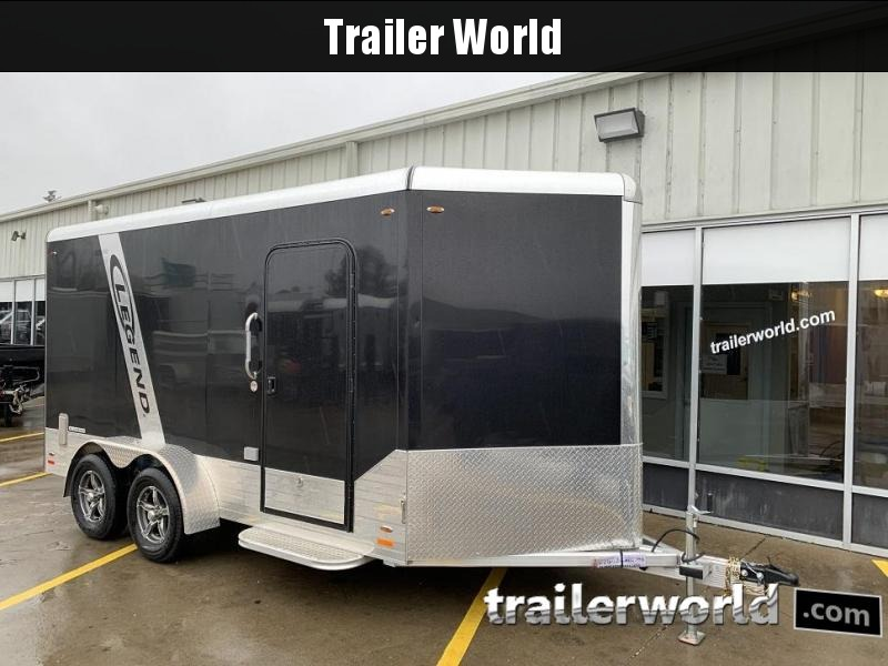 2019 Legend 717DVN 17' Vnose Deluxe Aluminum Enclosed Cargo Trailer