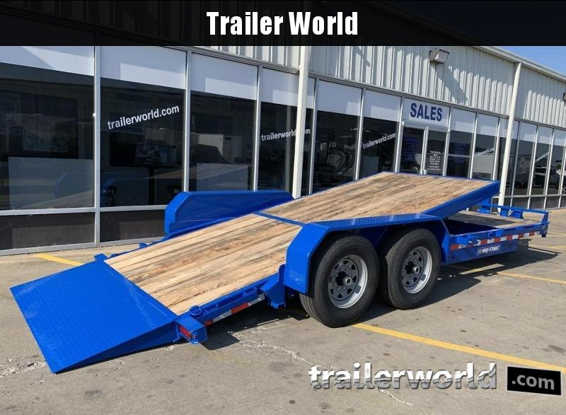 2020 Sure-Trac 20'  4' + 16' Tilt Bed Equipment Trailer 14k GVWR