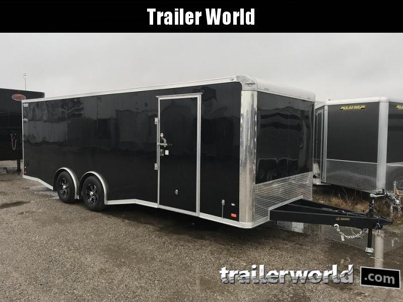 2019 CW 24' Enclosed Car Trailer Spread Axle 10k GVWR