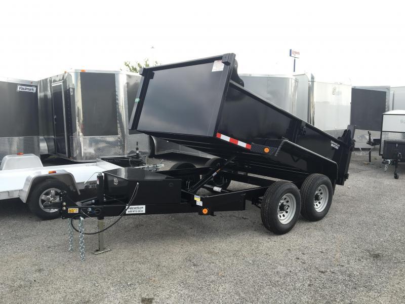 2016 Quality Steel 6' x 10'  Dump Trailer 10k GVWR
