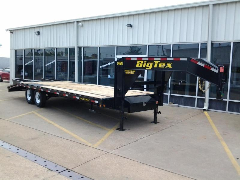 2017 Big Tex Trailers 14GN-20' + 5'  Equipment Trailers