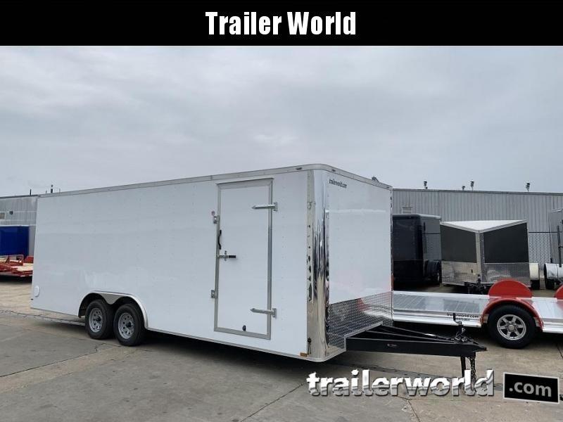 2019 Lark 8.5' x 22' x 7' Enclosed Car Trailer