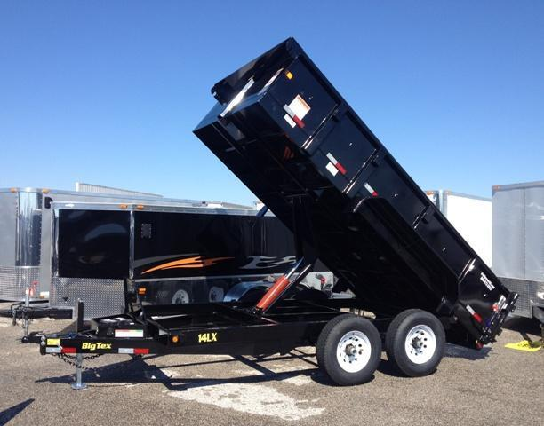 2014 Big Tex Trailers 14LX 14' Dump Trailer