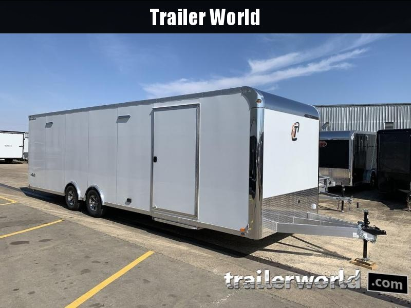 2019 inTech  28' Lite Aluminum Enclosed Car / Race Trailer