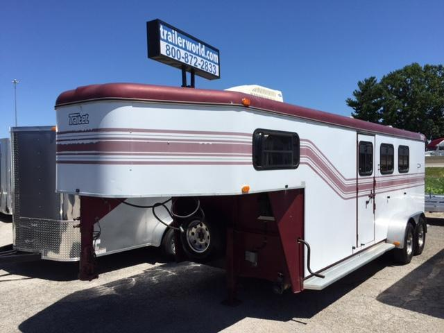 1999 Trail-Et 3 Horse Living Quarters Trailer