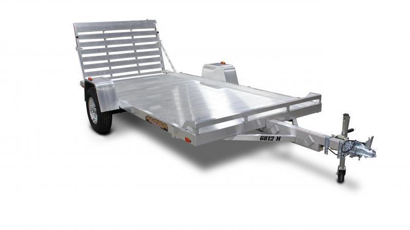 2016 Aluma 6812H Aluminum Utility Trailer