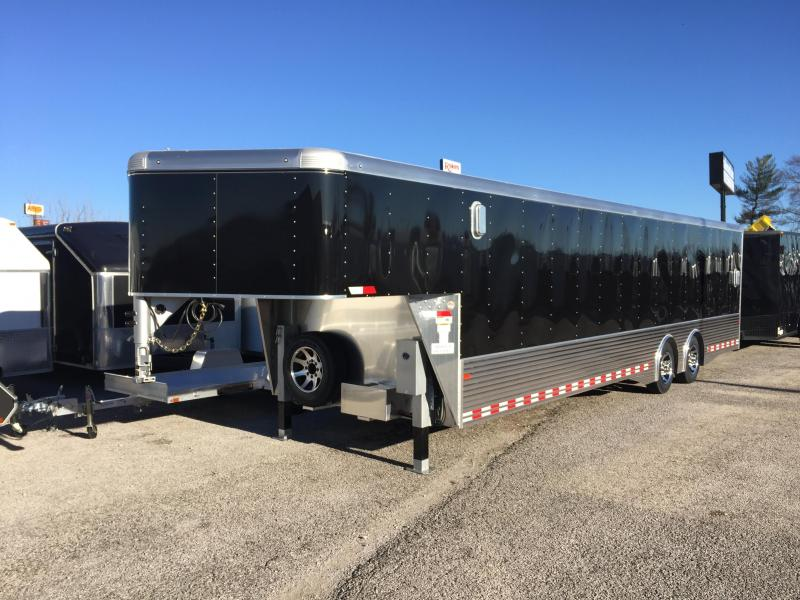 2016 Sundowner 38' Aluminum Gooseneck Enclosed Car Trailer