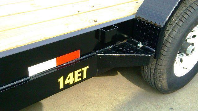 2014 Big Tex 14ET-18' Equipment Trailers
