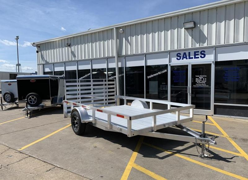 2019 Trailer World Aluminum 12' Utility Trailer