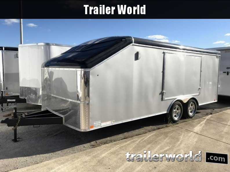 2018 United 20' Slope Nose Car Trailer Show Car Pkg