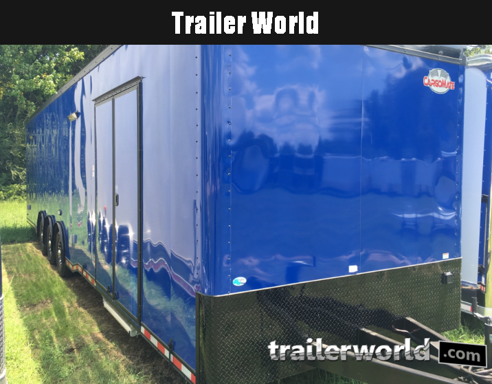 2020 Cargo Mate 34' Eliminator Black-Out Race Trailer