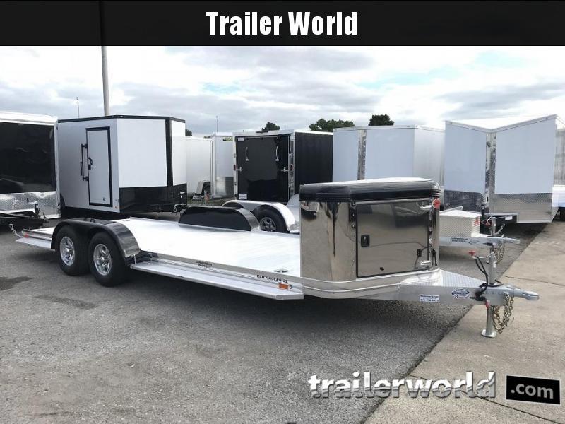 2019 Sundowner ULTRA Aluminum Open Car Hauler Trailer 22' 10k GVWR