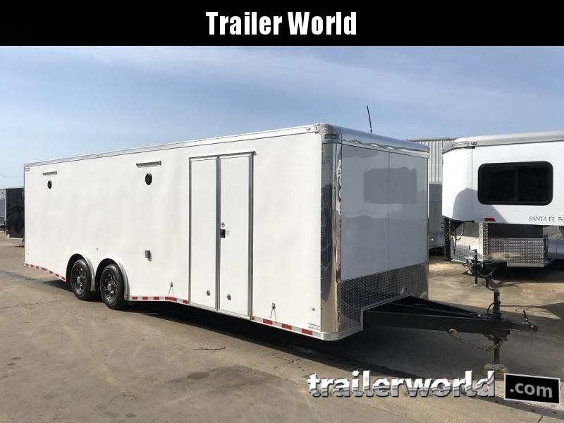 2019 CW 28' Spread Axle Race Trailer 14k GVWR