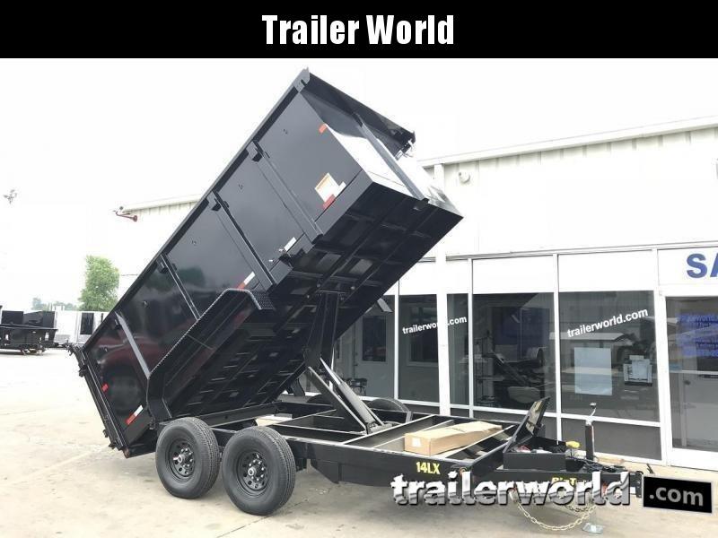 2019 Big Tex Trailers 14LX-14' Dump Trailer w/ 4' Sides & TARP