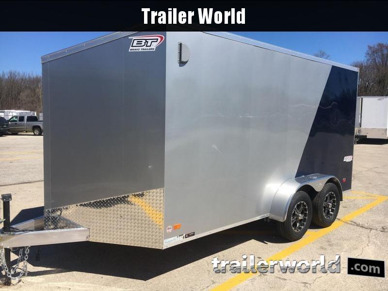 2020 Bravo SSAC 7' x 14' x 6.5' Aluminum Enclosed Cargo Trailer