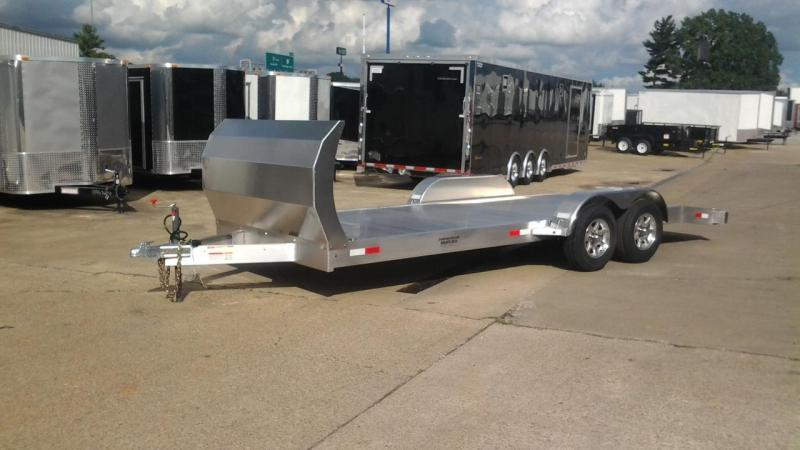 2014 Trailer World 20' Open Aluminum Car Hauler Trailer 10k GVWR
