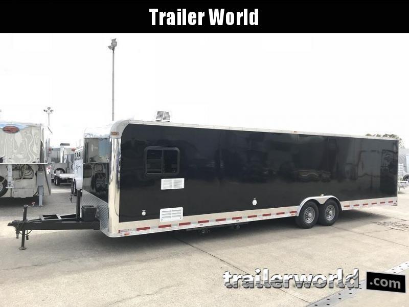 2012 Vintage 32' Toy Hauler Race Trailer