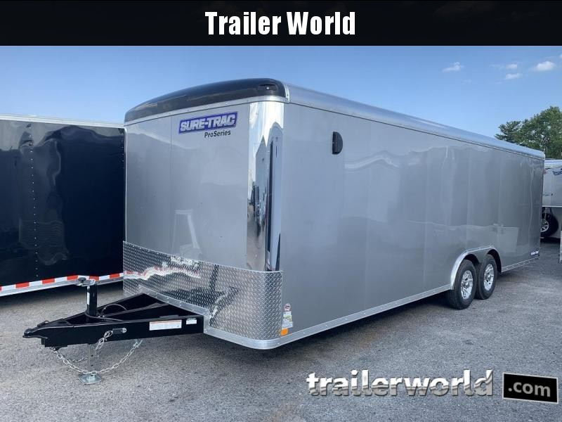 2019 Sure-Trac 24' Pro Series Round Top Car Hauler Trailer 10K