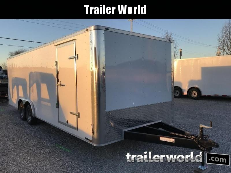 2018 Lark 24' Enclosed Car Hauler Trailer 10k GVWR