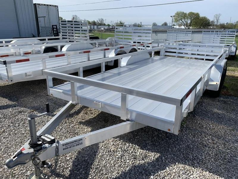 2019 Trailer World Aluminum 18' Utility Trailer