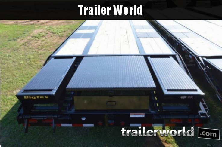 2015 Big Tex Trailers 22GN-35' + 5' CP Equipment Trailers