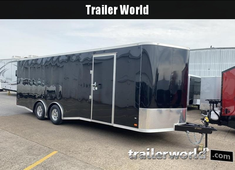 2019 CW 24' Enclosed Car Trailer 10k GVWR 7' Tall