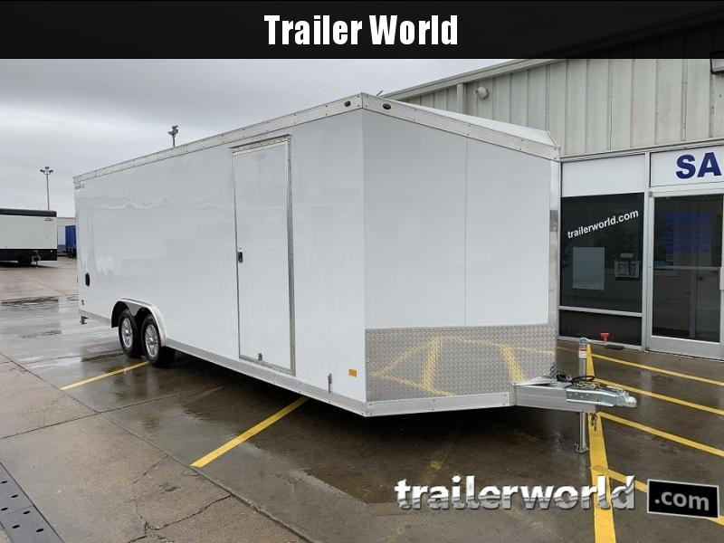 2019 Haulmark 24' x 7' Aluminum Enclosed Car Trailer - CLEARANCE