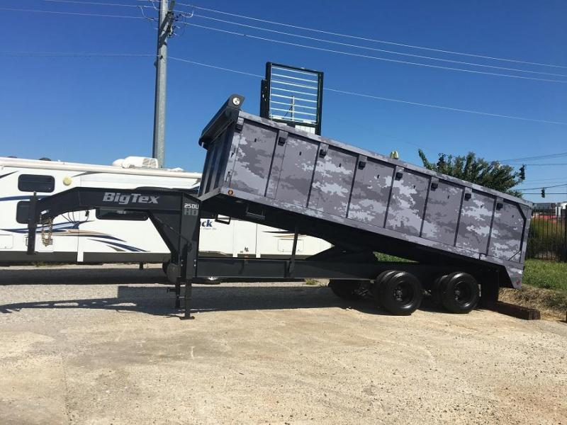 2017 Big Tex Trailers 25DU-20
