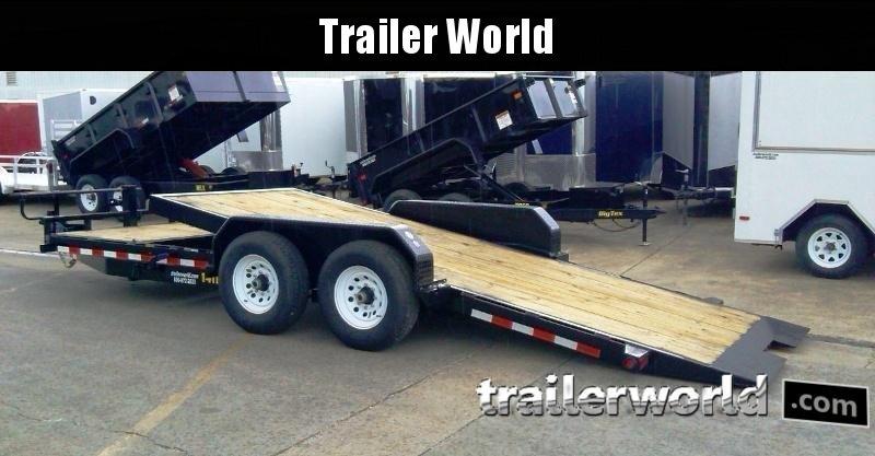 2018 Big Tex 14TL-20' 16' Tilt + 4' Equipment Trailers